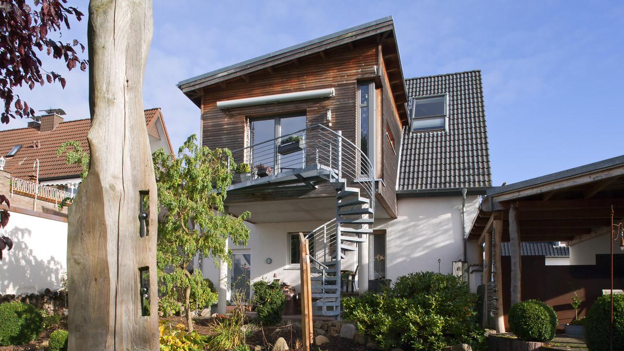 Schön Haus Anbau Sammlung Von B